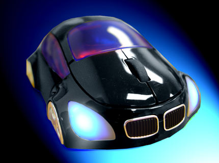 M-COUPE BLACK OPTICAL MOUSE