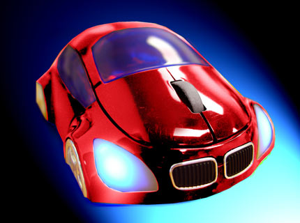 M-COUPE RED OPTICAL MOUSE