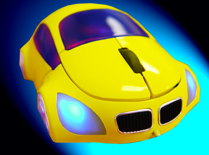 M-COUPE YELLOW OPTICAL MOUSE