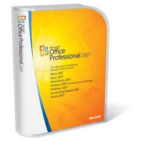 Microsoft Office Professional 2007